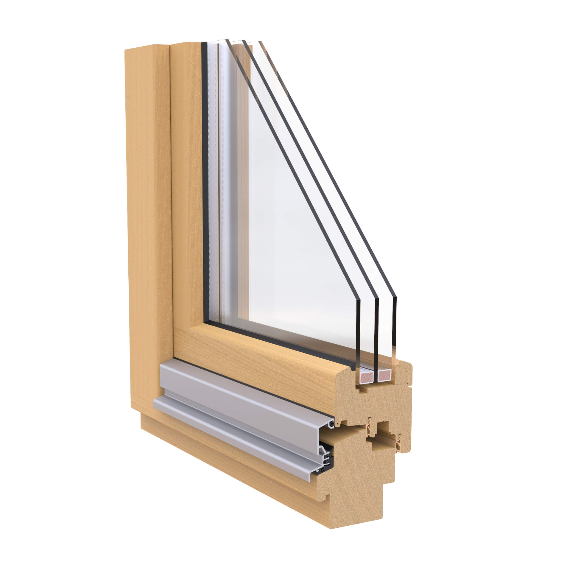 WINDOR® Timber Window OPUS 78 External Profile