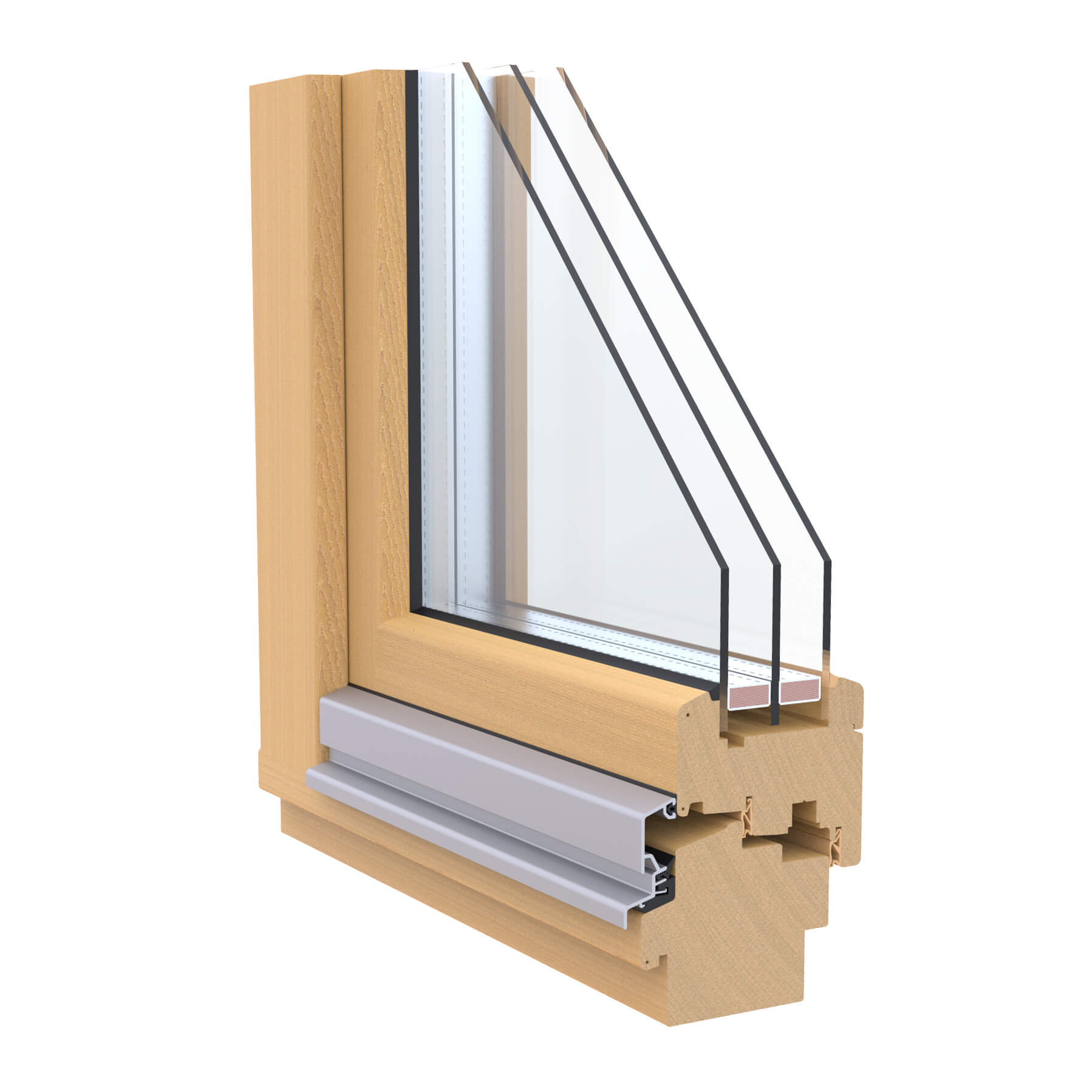 WINDOR® Holzfenster OPUS 92®
