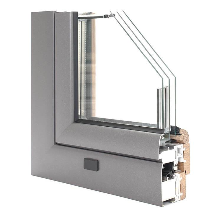 Holz-Alu Fenster | Compakt TERMO® | WINDOR®
